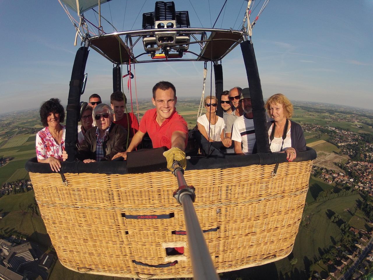 Ballonvaart Ieper