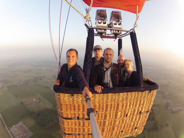 Ballonvaart De Pinte