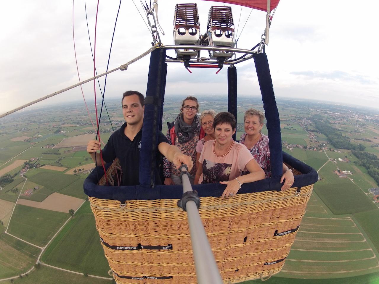 Ballonvaart Zomergem