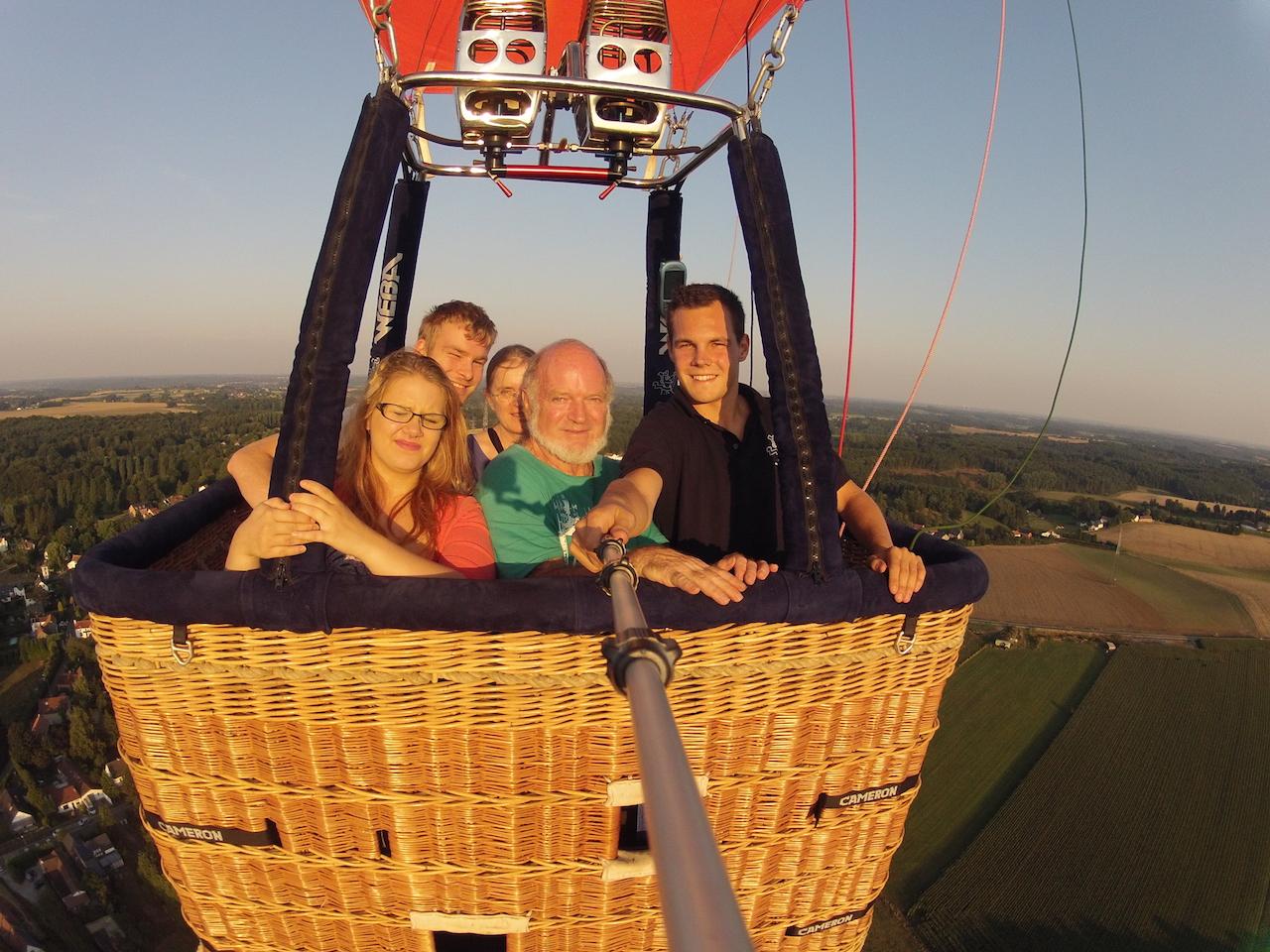 Ballonvaart Nivelles
