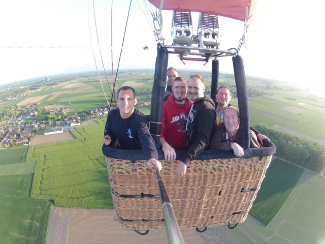 Ballonvaart Doornik