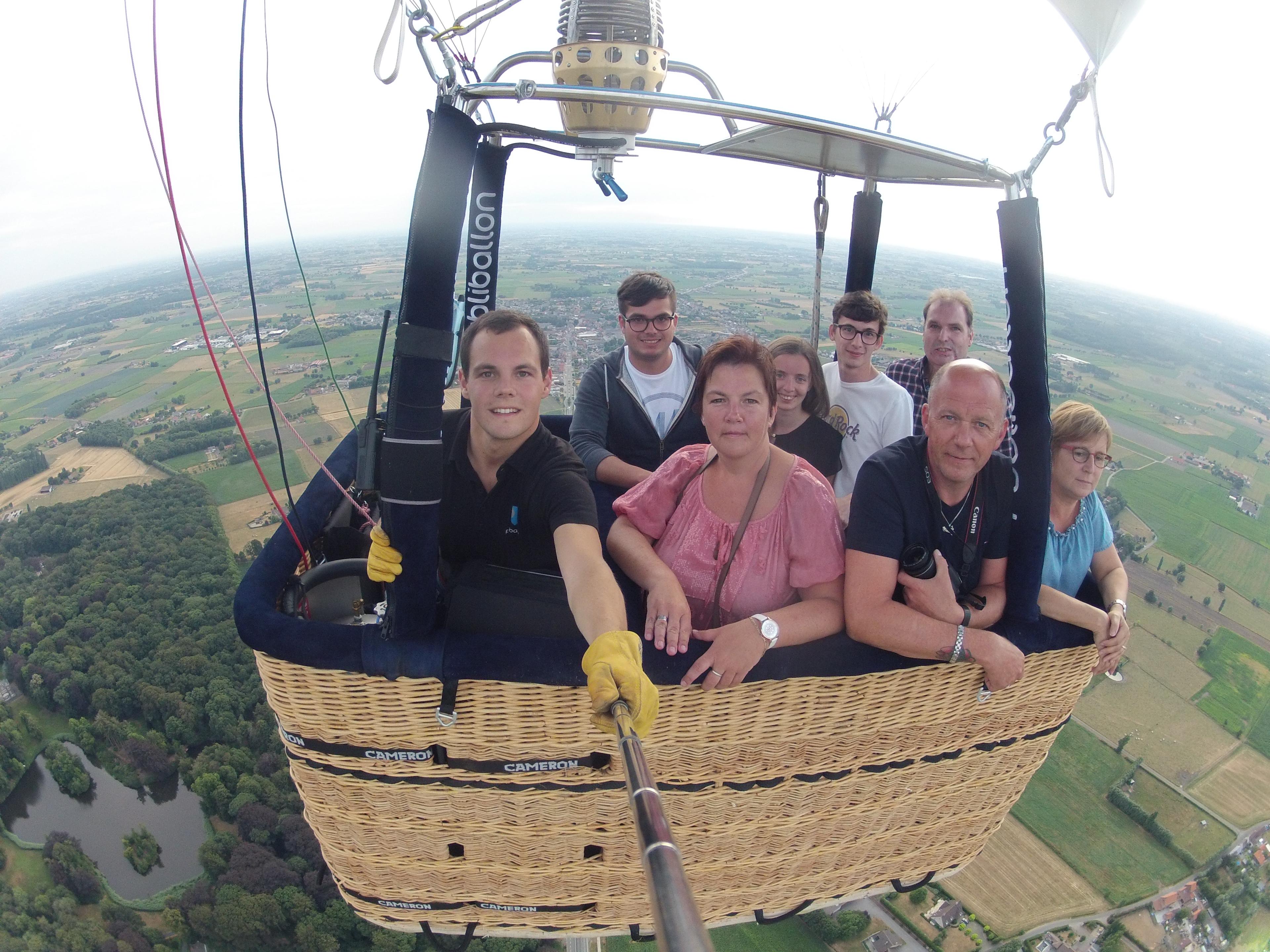 Ballonvaart Torhout