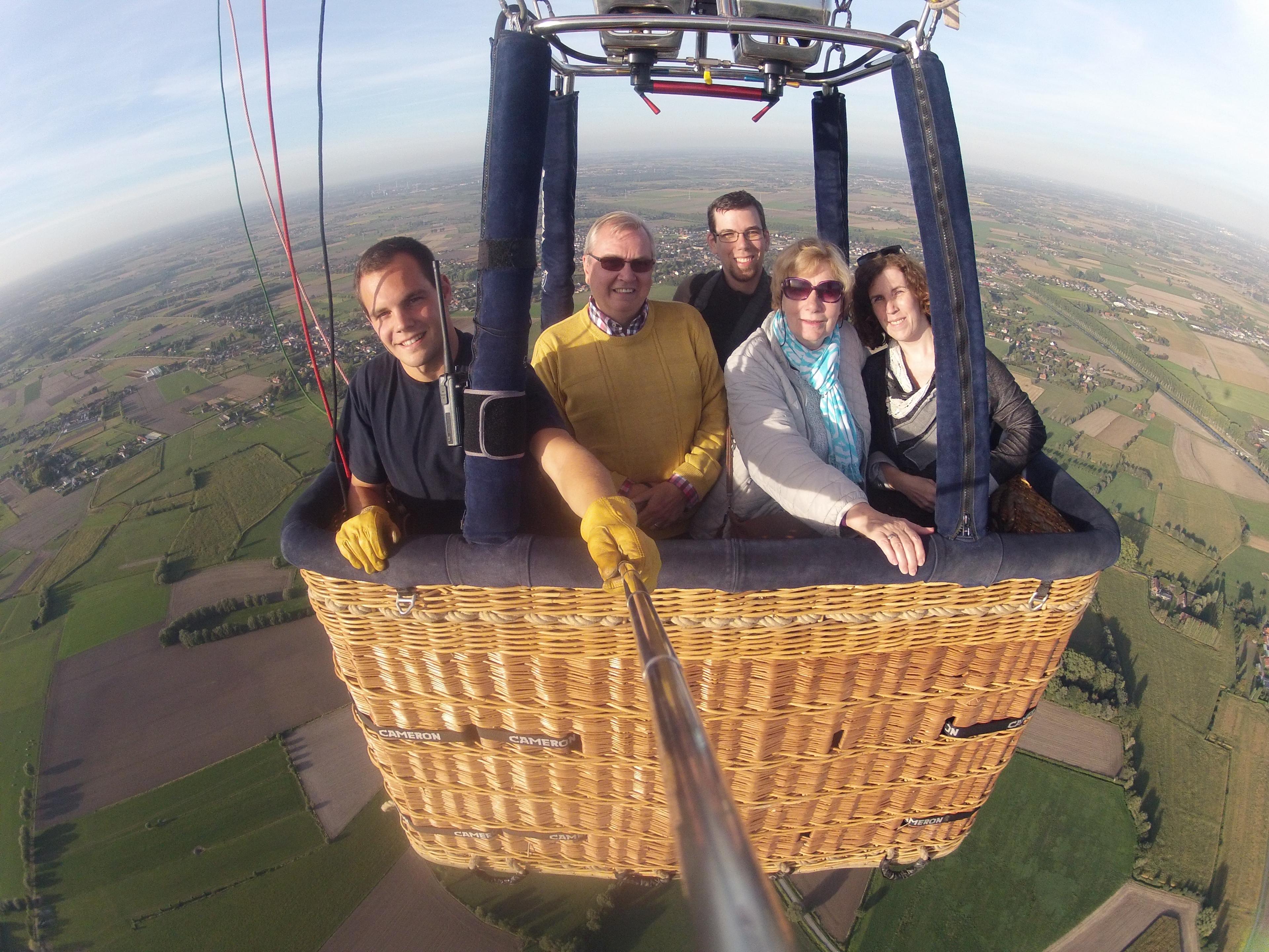 Ballonvaart Aalter