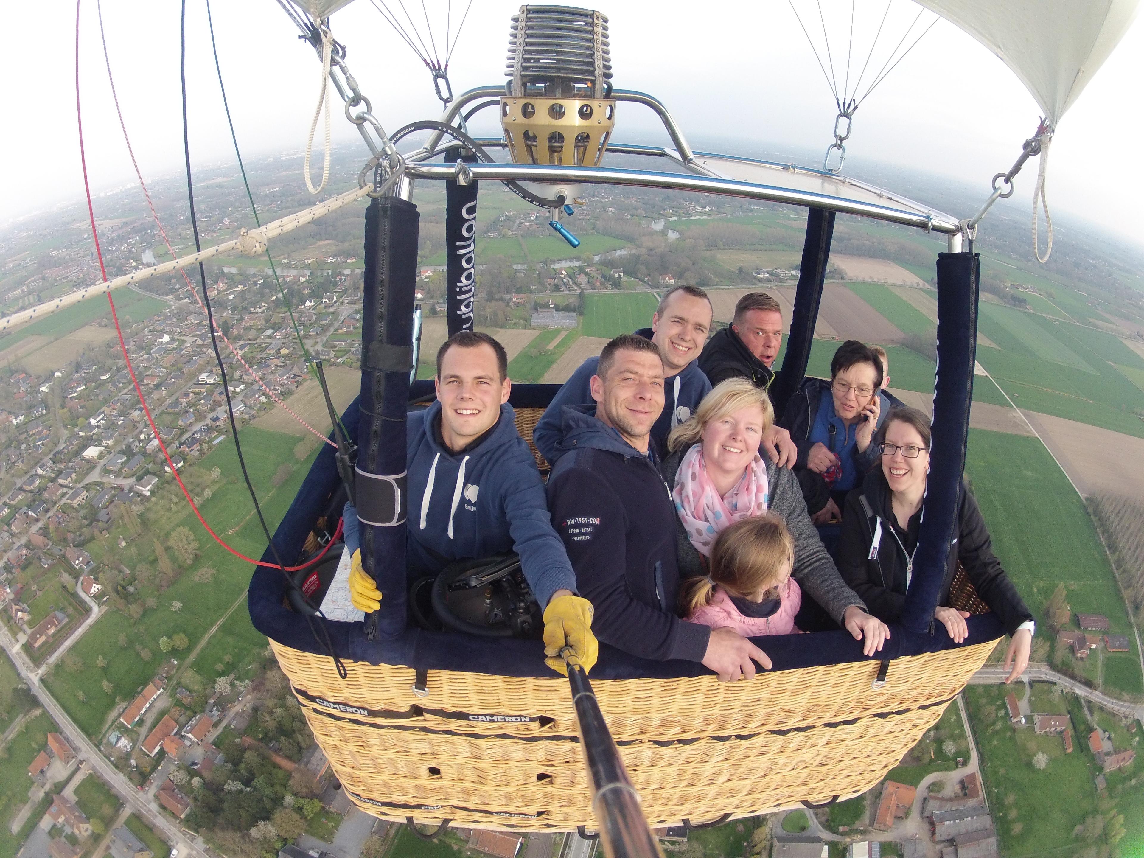 Ballonvaart Drongen