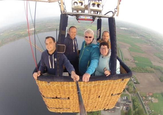 Ballonvaart kaprijke