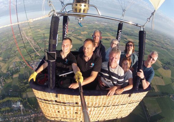 Ballonvaart Kruisem