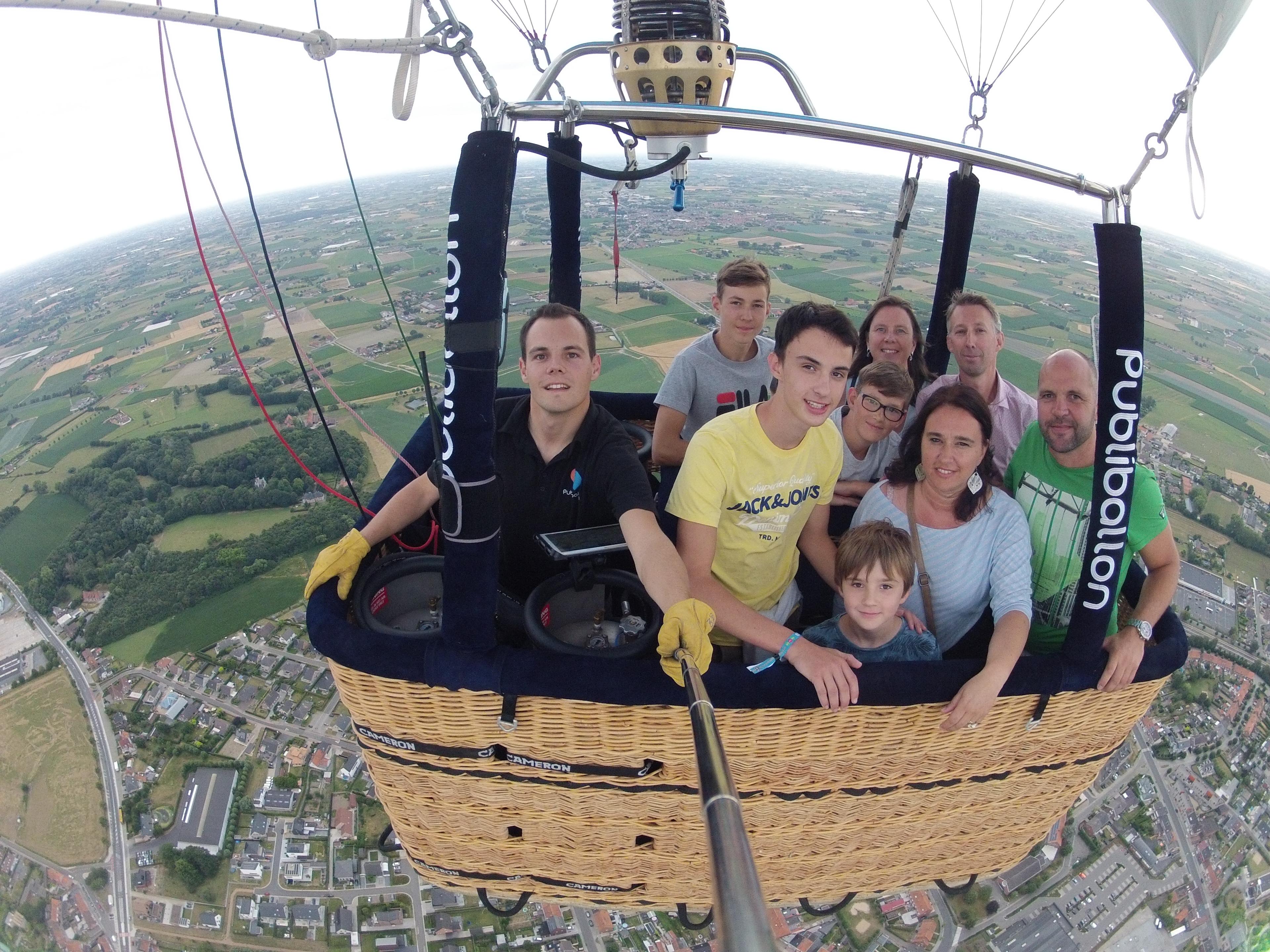 Ballonvaart Ruiselede