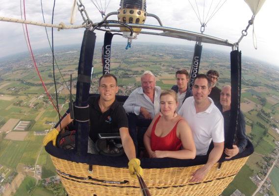 Ballonvaart Deinze